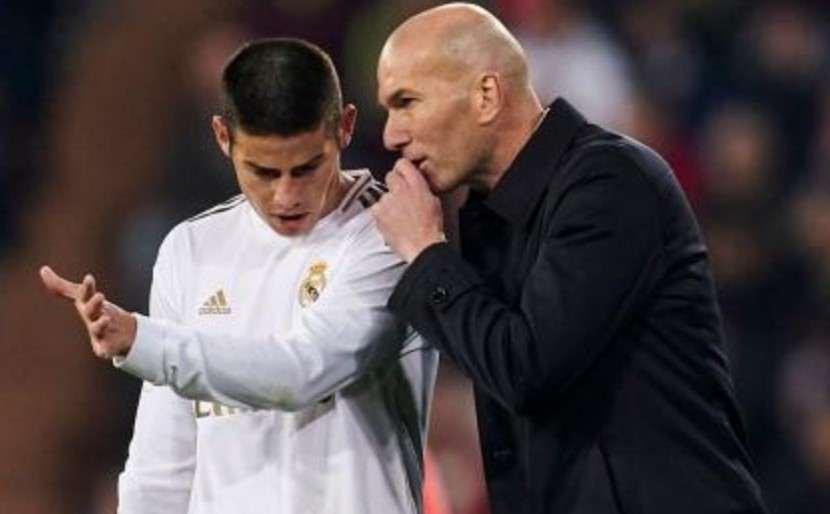 En Real Madrid se preguntan por qué Zidane no contó con James