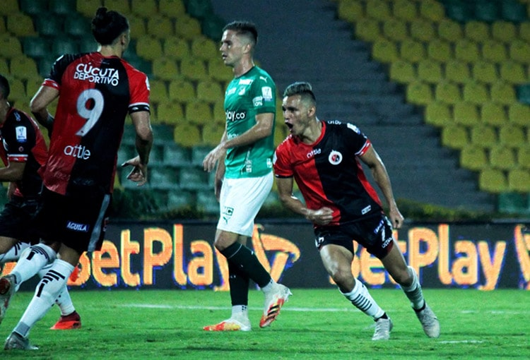 Cúcuta Deportivo 3-3 Deportivo Cali, Liga 2020-I
