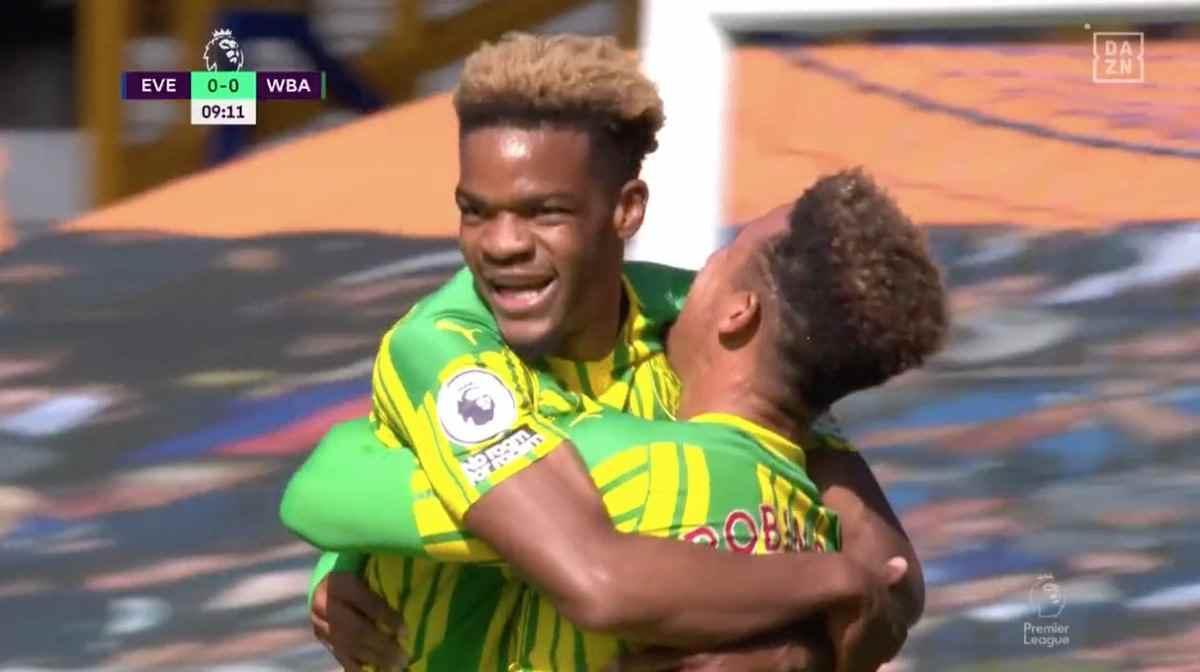 ¿Culpa de James y Yerry Mina en el 0 – 1 del West Bromwich?