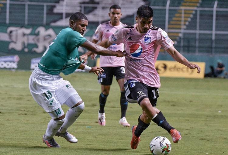 Millonarios y Deportivo Cali, con bajas por COVID-19 y por un cupo en Copa Sudamericana