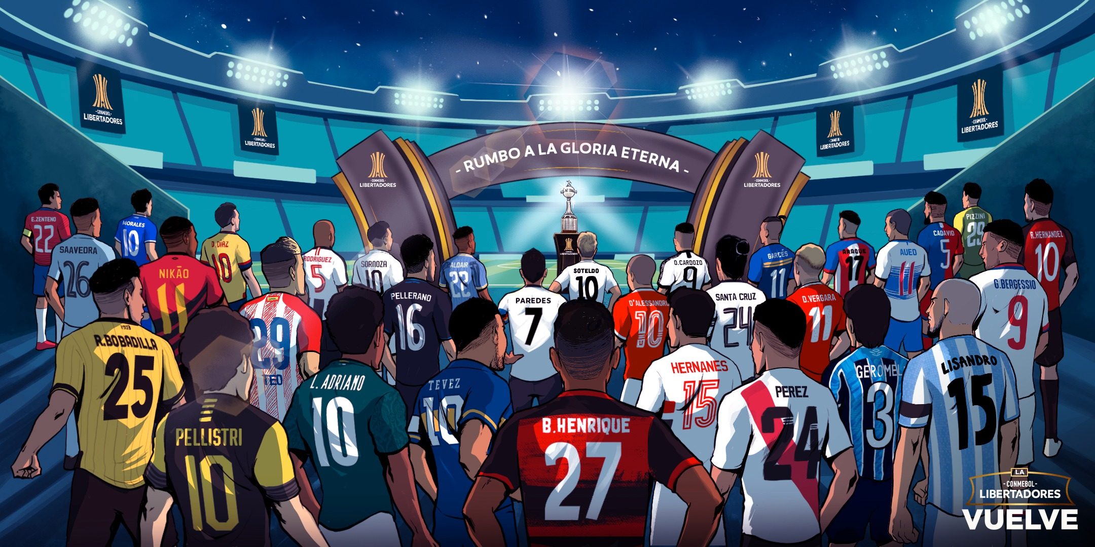 Apuestas tercera fecha Copa Libertadores