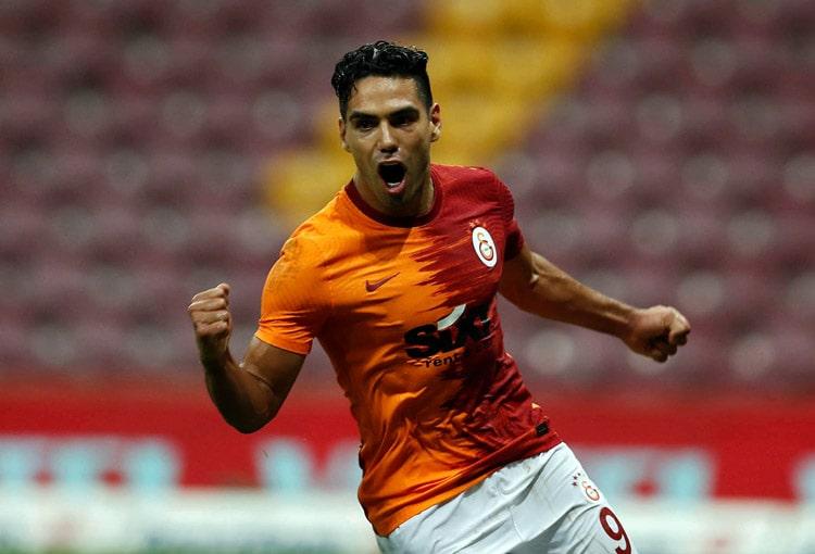 Falcao García, Galatasaray SK 3- Gazişehir Gaziantep, Superliga de Turquía 2020-21 (5)