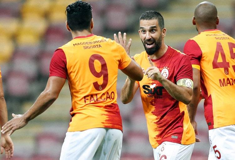 Falcao García, Galatasaray SK 3- Gazişehir Gaziantep, Superliga de Turquía 2020-21 (6)