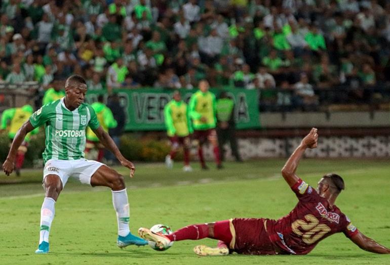 Helibelton Palacios, Atlético Nacional, Deportes Tolima, Liga 2019-II, COVID-19