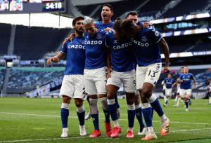 James Rodríguez, Tottenham Hotspur 0-1 Everton FC, Premier League 2020-21