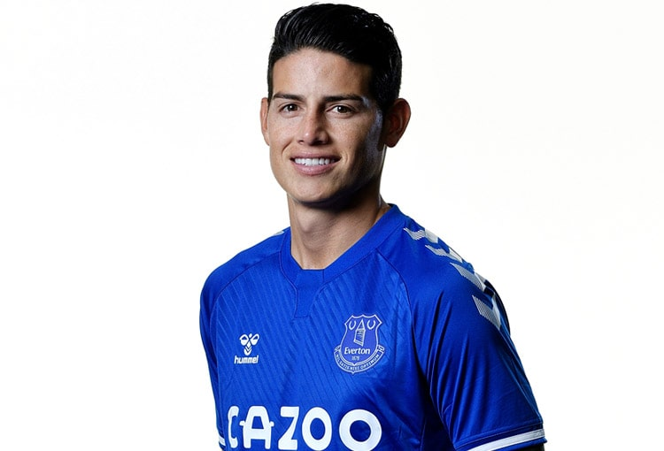 James Rodríguez, Everton FC