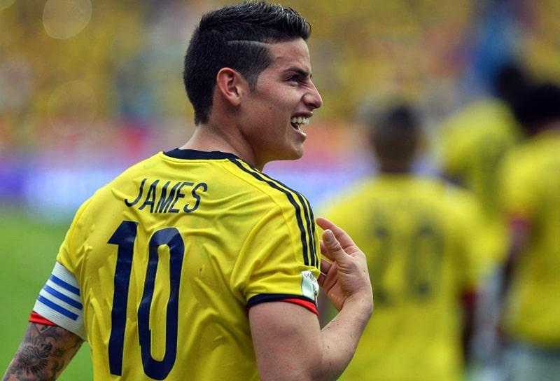 James Rodríguez, Selección Colombia, Eliminatorias Sudamericanas Qatar 2022, Mundial de Fútbol Qatar 2022