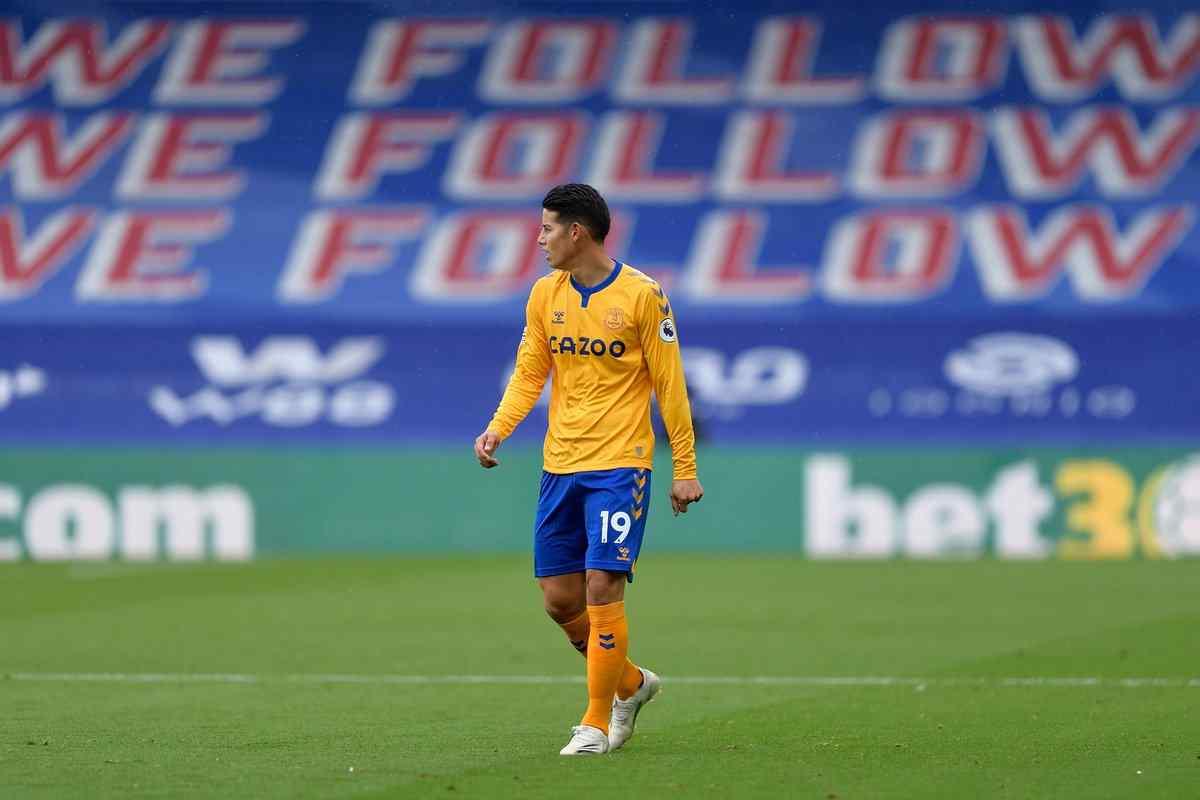 El dato sobre James Rodríguez que sorprende en la Premier League