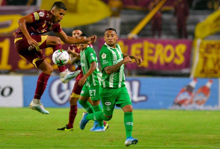 Jarlan Barrera, Deportes Tolima 1-0 Atlético Nacional, Liga 2019-II