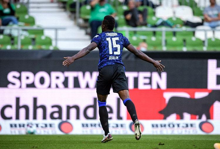 Jhon Córdoba, Werder Bremen 1-4 Hertha Berlín, Bundesliga 2020-21
