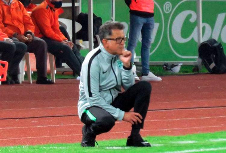 Juan Carlos Osorio, Once Caldas 2-0 Atlético Nacional, Liga 2020-I