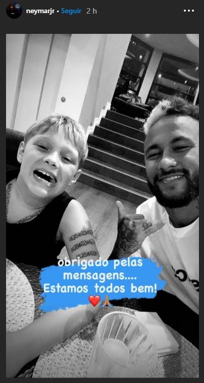 Neymar, COVID-19