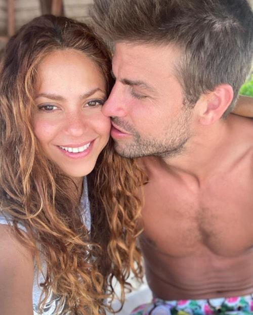 Shakira, Gerard Piqué, románticas fotos (1)
