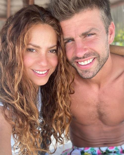 Shakira, Gerard Piqué, románticas fotos (2)