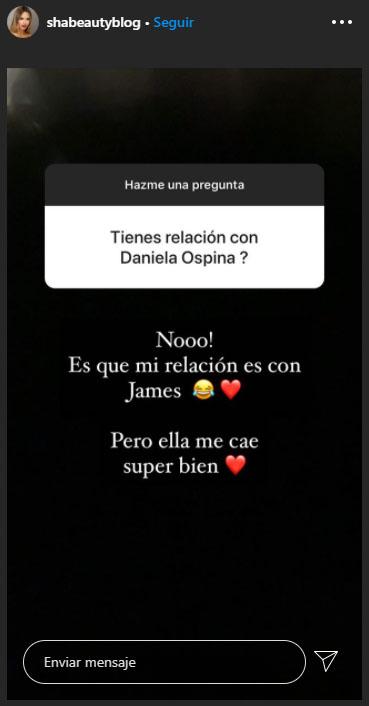 Shannon de Lima, James Rodríguez, Daniela Ospina, confesión (1)