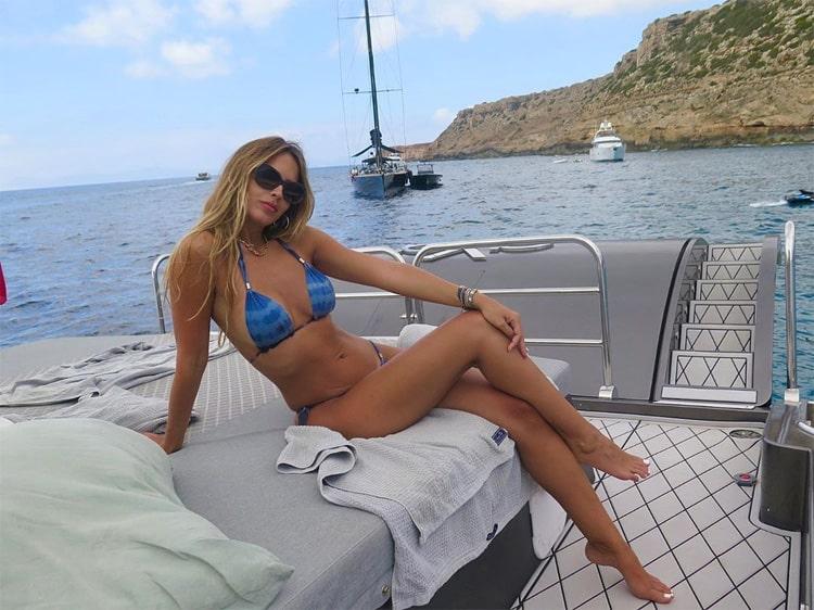 Shannon de Lima, vacaciones, James Rodríguez, última foto