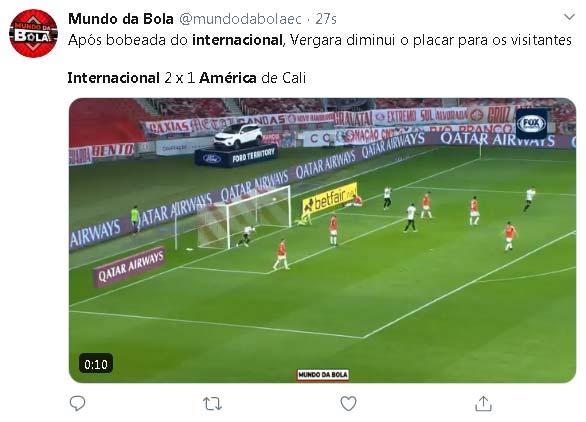 Duvan Vergara gol America de Cali