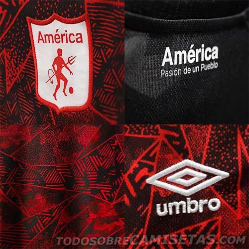Detalles de la nueva camiseta de América de Cali