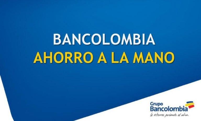 Retirar Ingreso Solidario de octubre en Bancolombia a La Mano