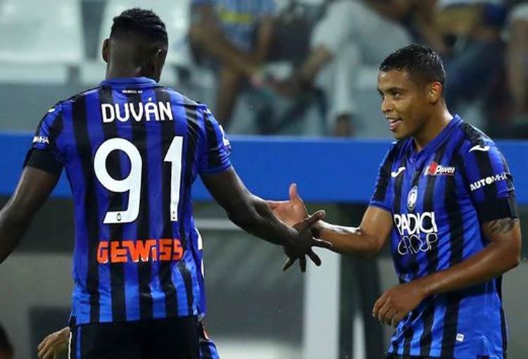 ¿Adiós rumores de salidas? Zapata y Muriel ya entrenan con el Atalanta para la nueva temporada