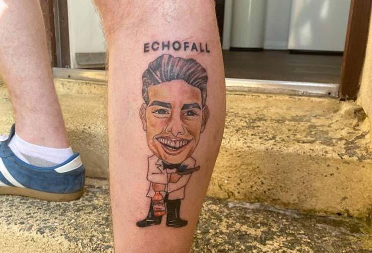 Hincha del Everton y su explicación al tatuaje de James Rodríguez