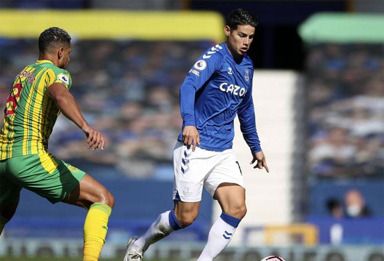 Premier League: BBC vuelve a incluir a James Rodríguez en el Equipo Ideal de la Semana