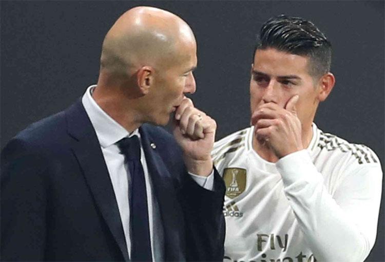 ¡Con todo contra Zidane por la salida de James Rodríguez!