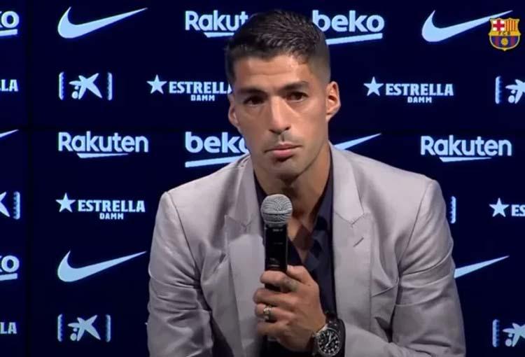 Luis Suárez se fue llorando del Barcelona