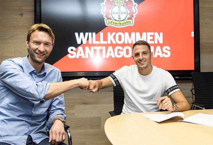 Oficial: detalles del fichaje de Santiago Arias en Bayer Leverkusen