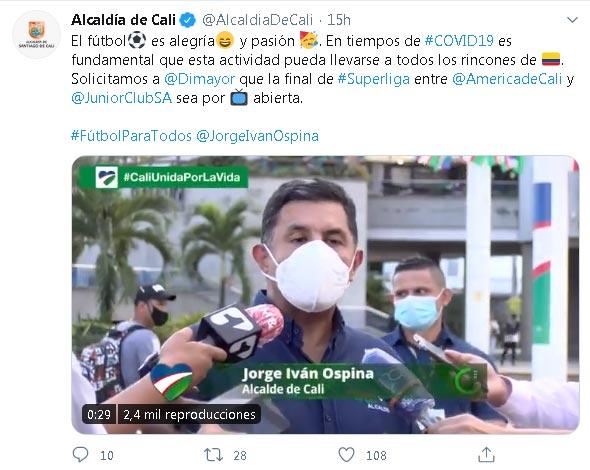 ¿TV abierta para la Superliga entre América de Cali y Junior, Win Sports? 2