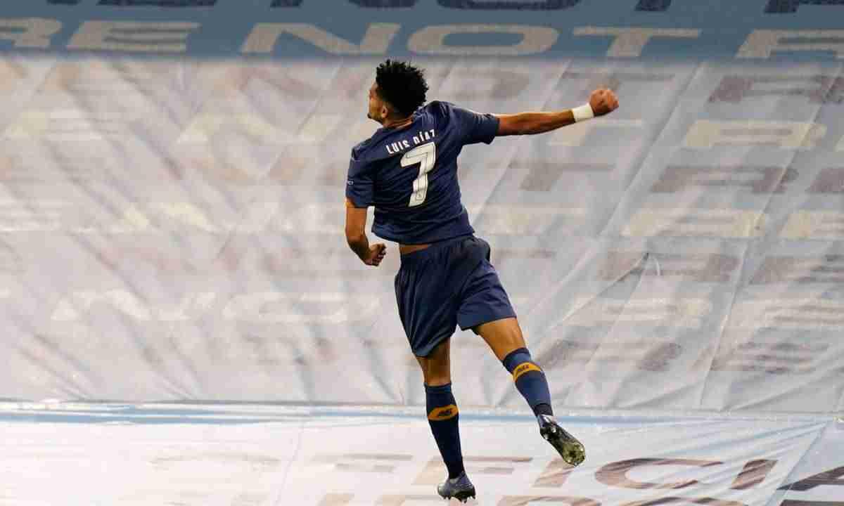 ¡Golazo de Luis Díaz contra el Mánchester City de Guardiola!