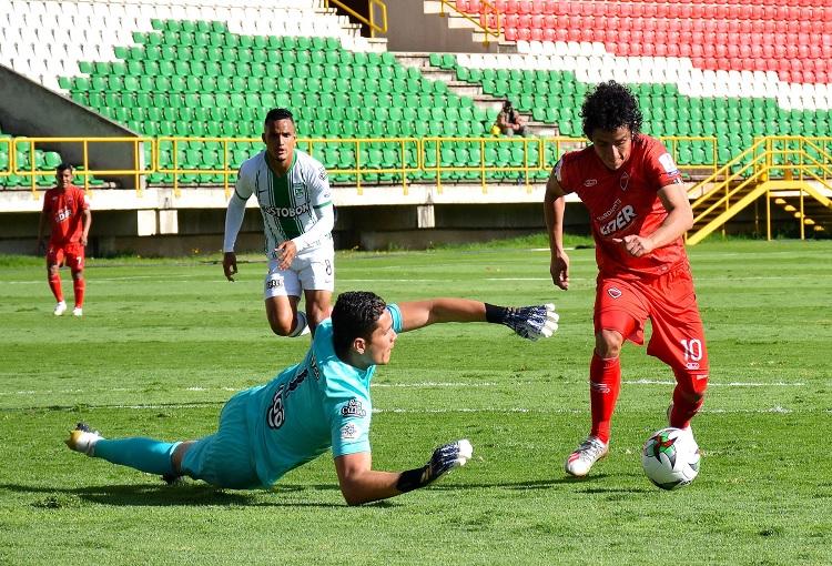 Aldair Quintana, Atlético Nacional, Patriotas Boyacá, Liga BetPlay 2020-I