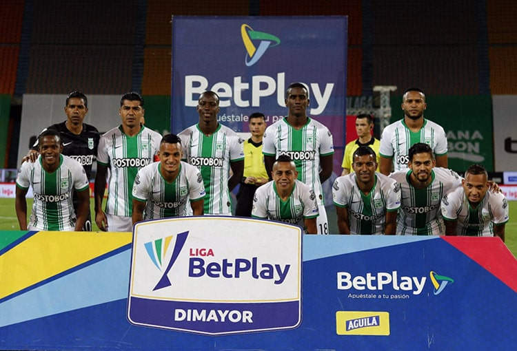 Atlético Nacional 2-2 Junior FC, Liga BetPlay 2020-I (2)
