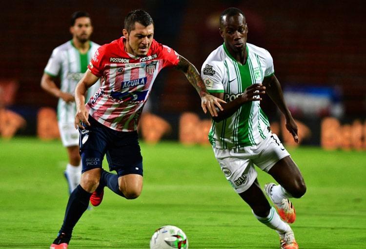 Atlético Nacional 2-2 Junior FC, Liga BetPlay 2020-I