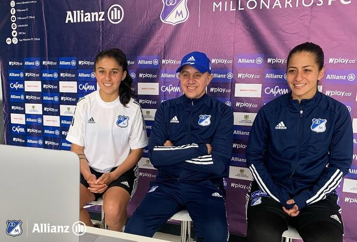 Carlos Gómez, Millonarios femenino, director técnico