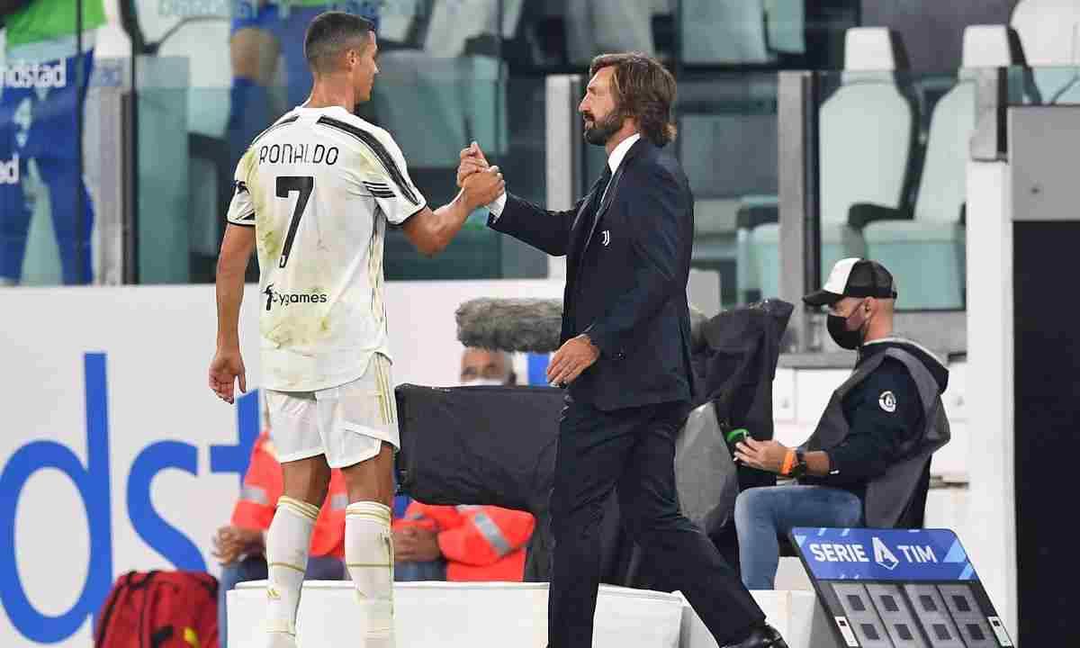Cómo es entrenar a Cristiano Ronaldo, según Andrea Pirlo