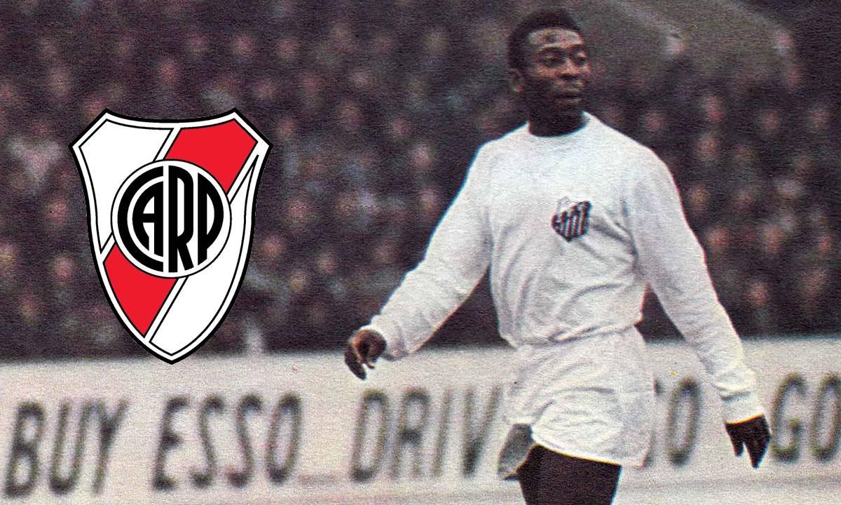 Cuando Pelé quiso ser jugador de River Plate