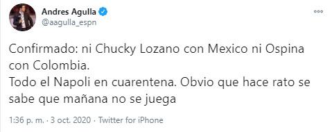 David Ospina, Selección Colombia, Mundial de Fútbol Qatar 2022, Eliminatorias Sudamericanas a Qatar 2022, Andrés Agulla