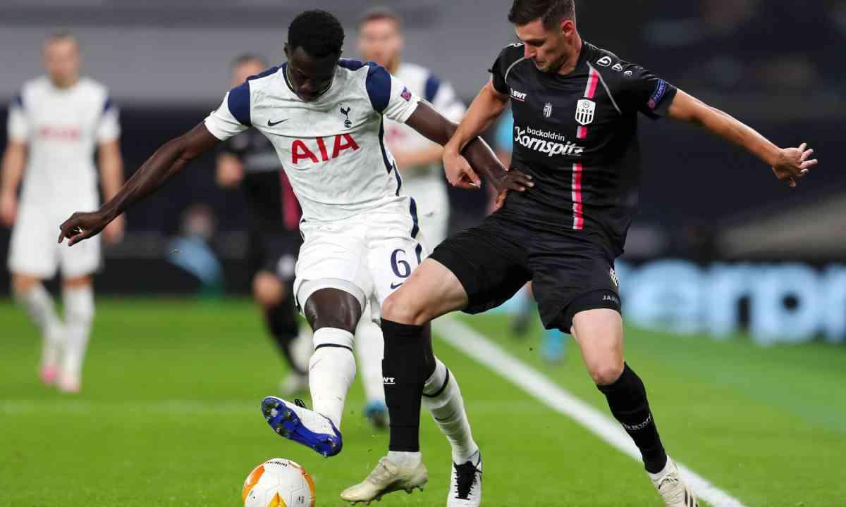 Davinson Sánchez y la primera jornada de Europa League del Tottenham
