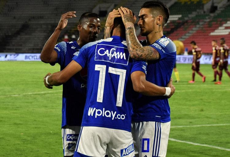 Deportes Tolima 2-2 Millonarios FC, Liga BetPlay 2020-I