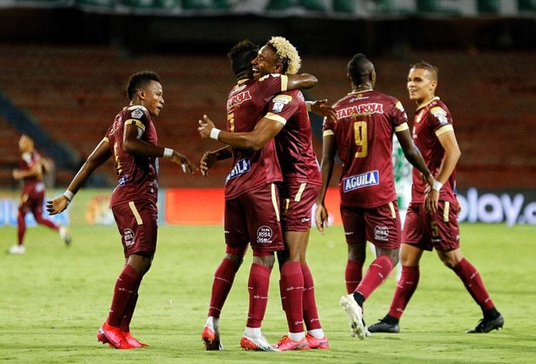 Deportes Tolima, Atlético Nacional, Deportivo Independiente Medellín, Millonarios FC, Liga BetPlay 2020-I