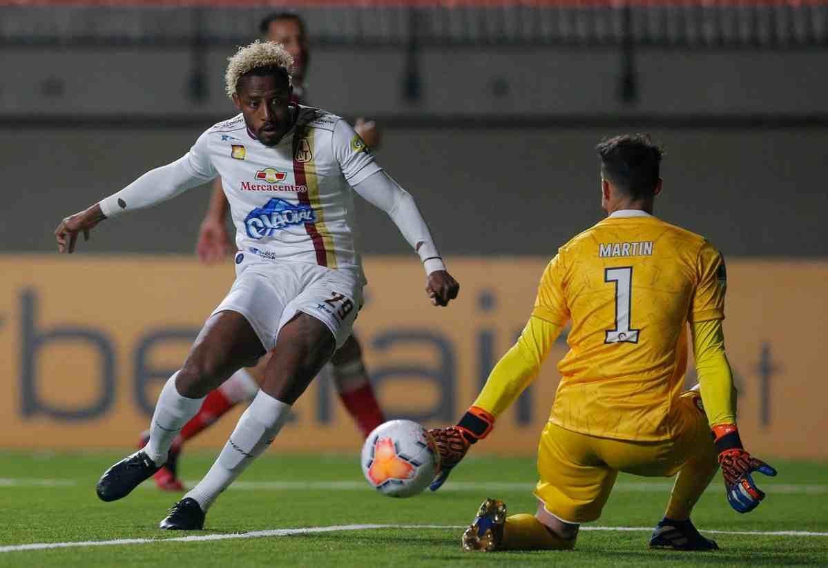 Empate del Tolima en su estreno por la Copa Sudamericana 2020