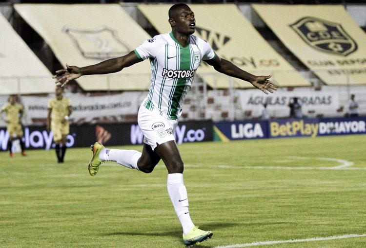 Fabián González Lasso, Águilas Doradas 2-3 Atlético Nacional, Liga BetPlay 2020-I