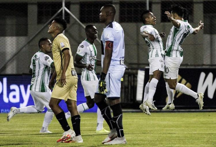 Fabián González Lasso, Vladimir Hernández, Andrés Andrade, Águilas Doradas 2-3 Atlético Nacional, Liga BetPlay 2020-I