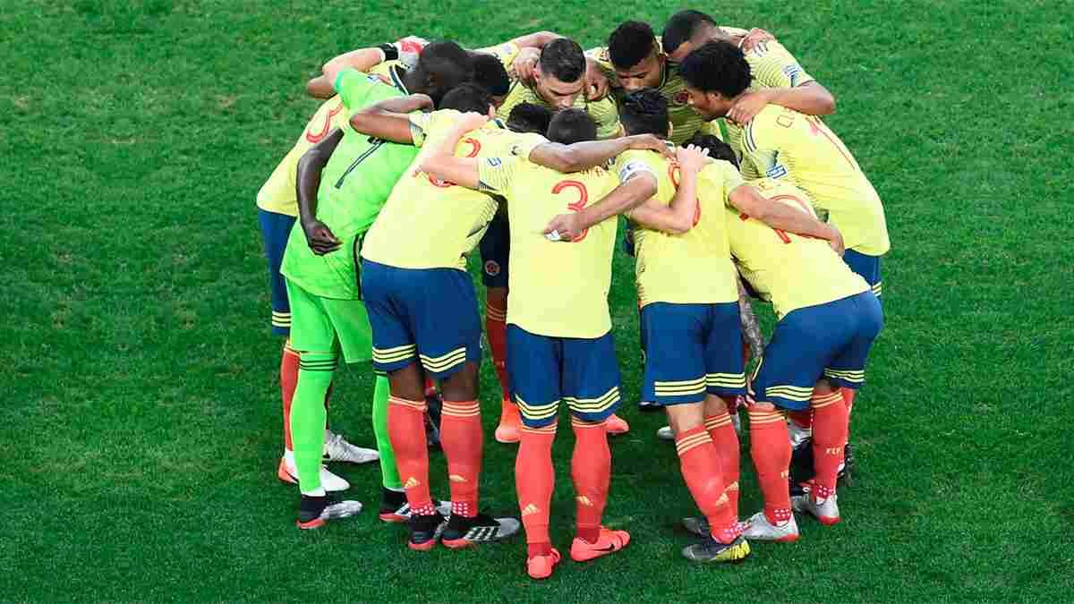 Formación titular de la Selección Colombia contra Venezuela