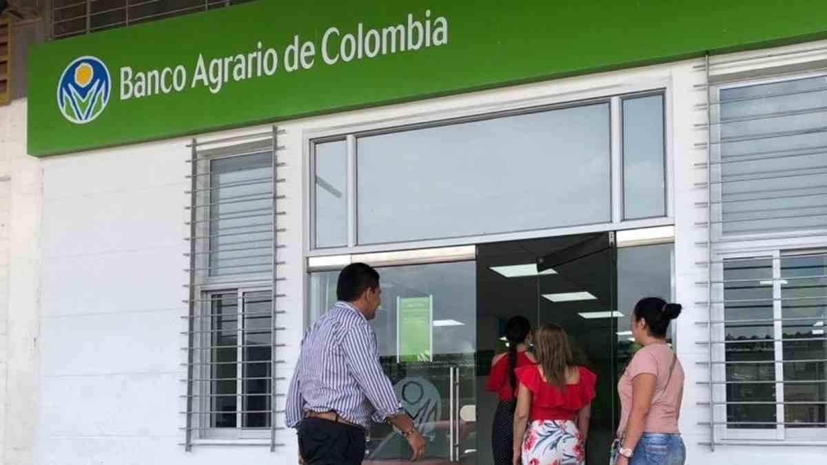 Giros del Ingreso Solidario en el Banco Agrario