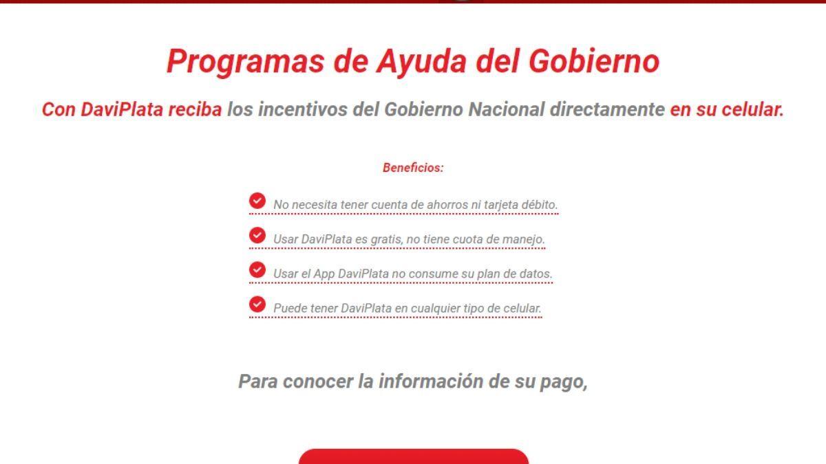 ¿Giros pendientes del Ingreso Solidario en Daviplata y no pagan?
