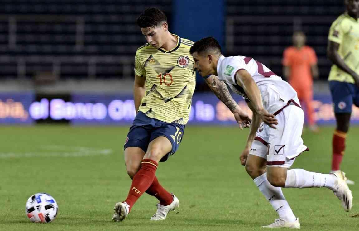 Goles de Colombia 3 – 0 Venezuela. Resumen y resultado