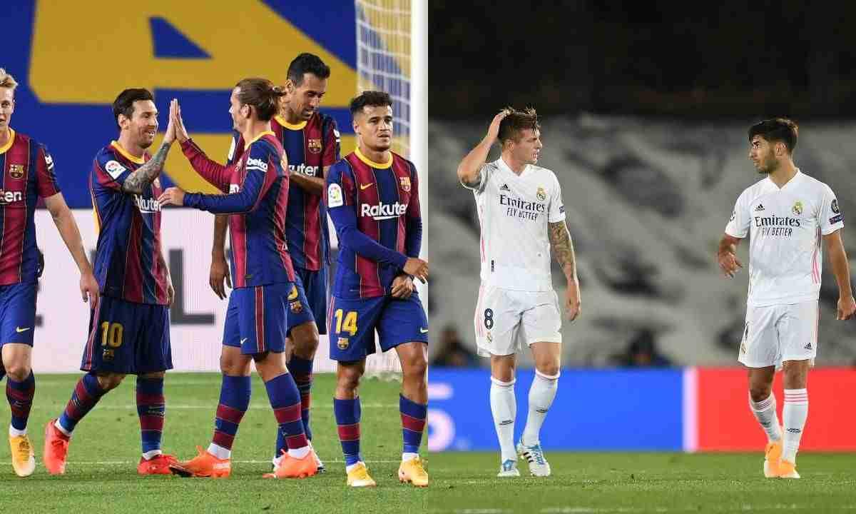 Horario y canal de TV para ver el Barcelona vs. Real Madrid
