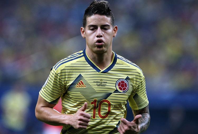 James Rodríguez, Selección Colombia, Venezuela, Eliminatorias a Qatar 2022, Mundial de Fútbol Qatar 2022